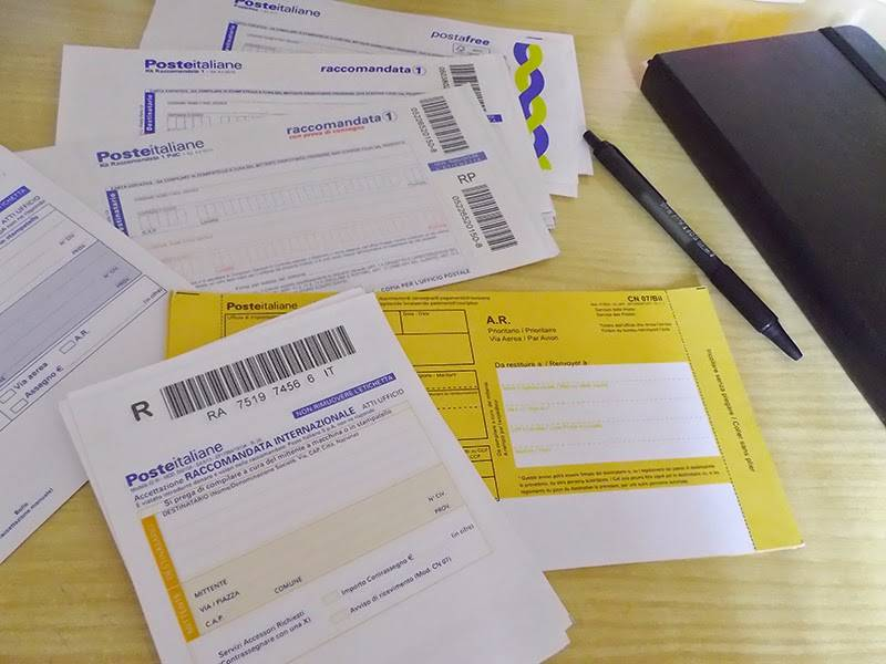 posta prioritaria e posta raccomandata