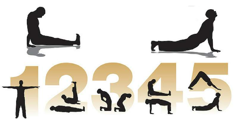 5 riti tibetani esercizi