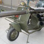 """La Vespa Bazooka una """"leggenda"""" nella storie di guerra"""