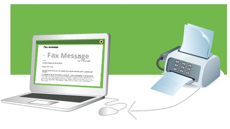 spedire un fax via internet