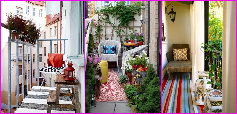 Idee per arredare un piccolo terrazzo init on line for Arredare balconi piccoli