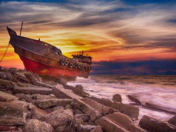 Tratti mare pericolosI