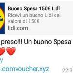 Buono spesa Lidl da 150 euro su Whatsapp: truffa o verità?