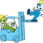 Carrelli elevatori: visibilità e sicurezza