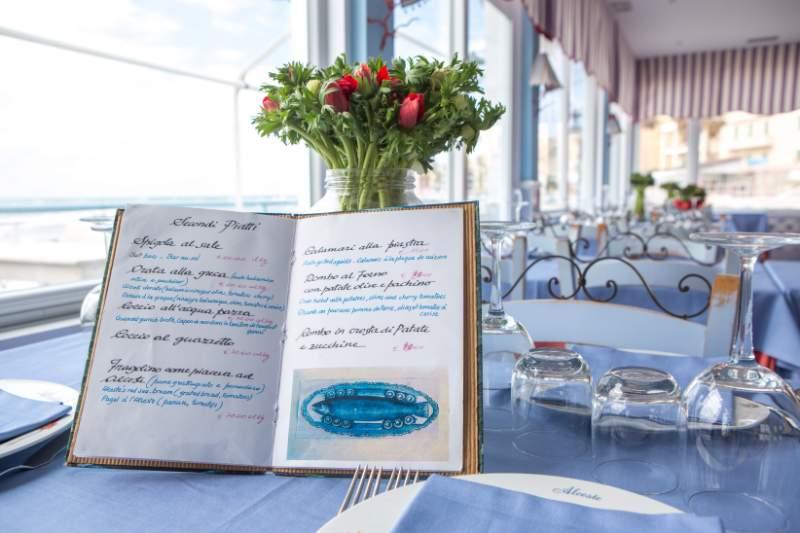 ristorante anzio menu pesce