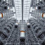 Vibrazioni del ventilatore industriale, causate da cinghie e cuscinetti